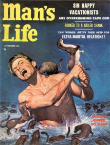 Man's Life - 1956 09 Sept - Weasels Ripped My Flesh-8x6